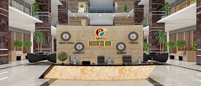 RAJHANS BUSINESS HUB*