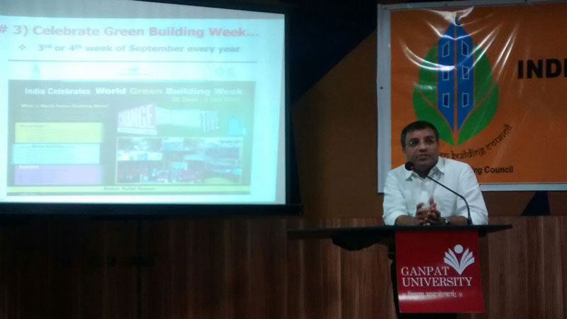 Ganpat University : Green Student Council Launch Event