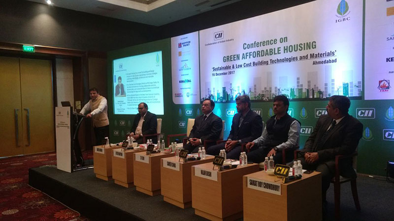 Jayesh Hariyani on Panel at the CII Conference on Green Affordable Housing