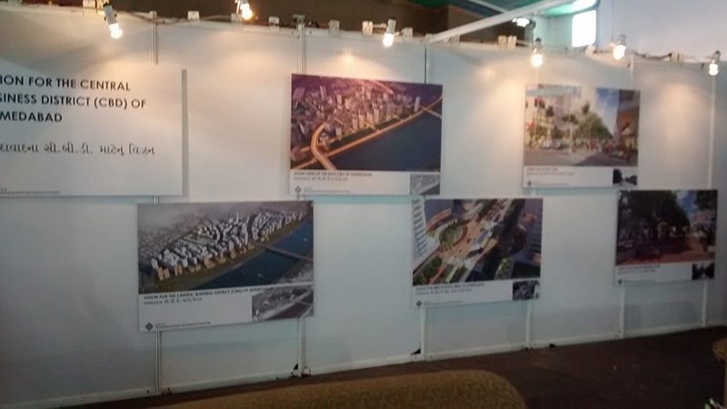 CBD, Ahmedabad exhibited at GIHED