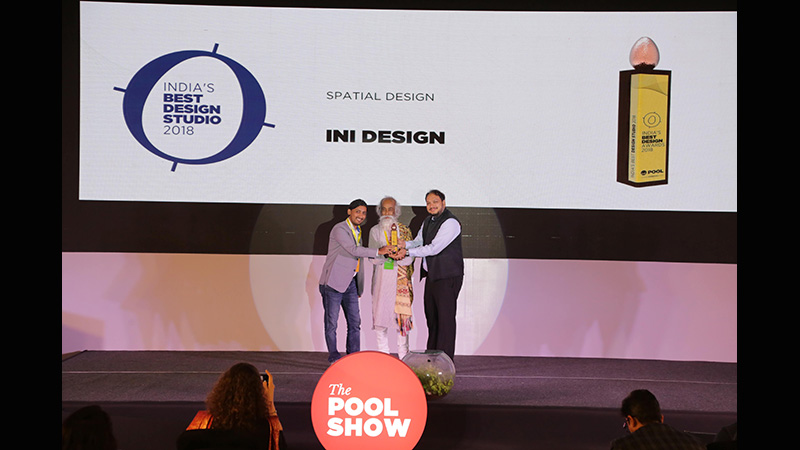 India's Best Design Studio Award, 2018