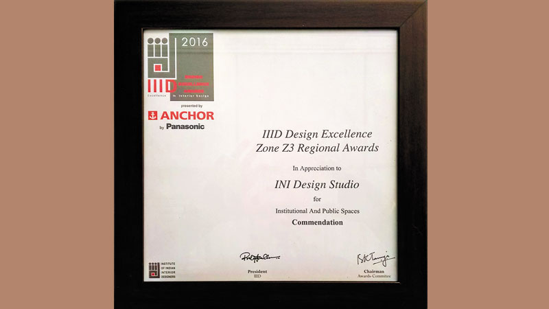 IIID Anchor Awards, 2016 – Zonal Commendation