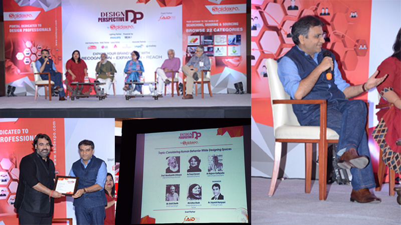 Jayesh Hariyani on panel at the Design Perspective