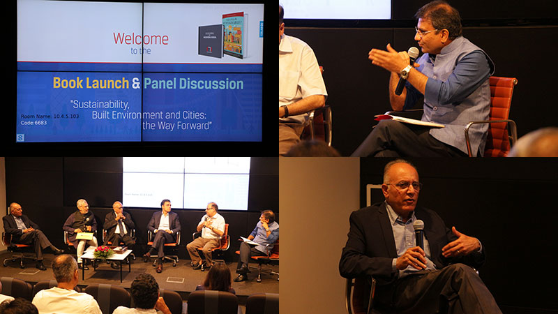 Workshop and Panel Discussion on Urban Sustainability at JSW Center, Mumbai